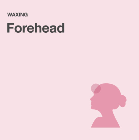 Forehead – Waxing