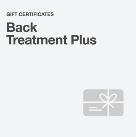 Back Treatment Plus