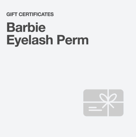 Barbie Eyelash Perm