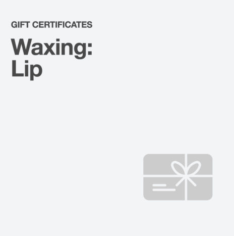 Waxing: Lip
