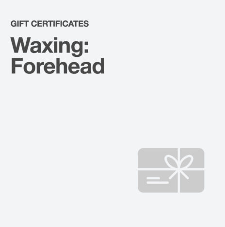 Waxing: Forehead