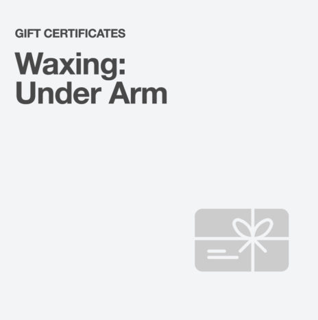 Waxing: Under Arm
