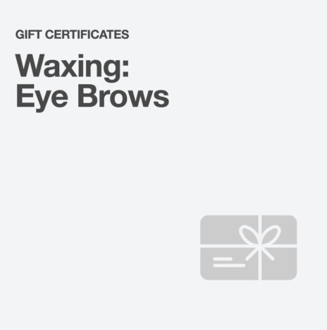 Waxing: Eyebrows
