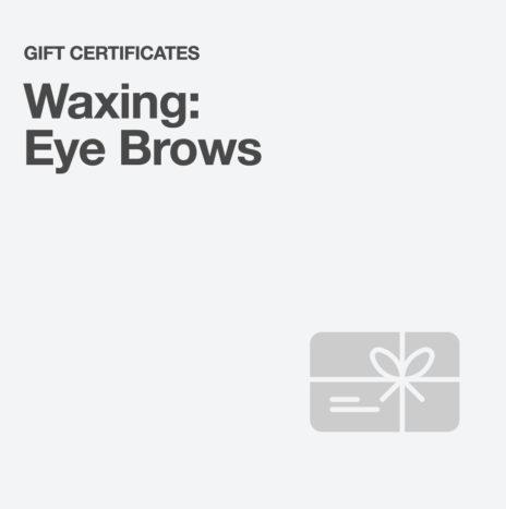 Waxing: Eyebrows