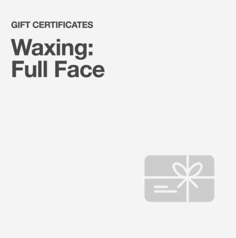 Waxing: Full Face