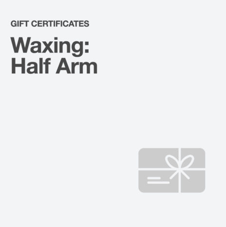 Waxing: Half Arm