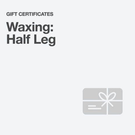 Waxing: Half Leg