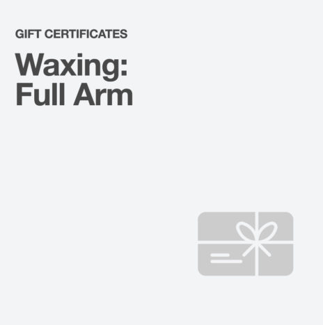 Waxing: Full Arm