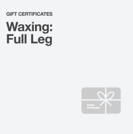 Waxing: Full Leg